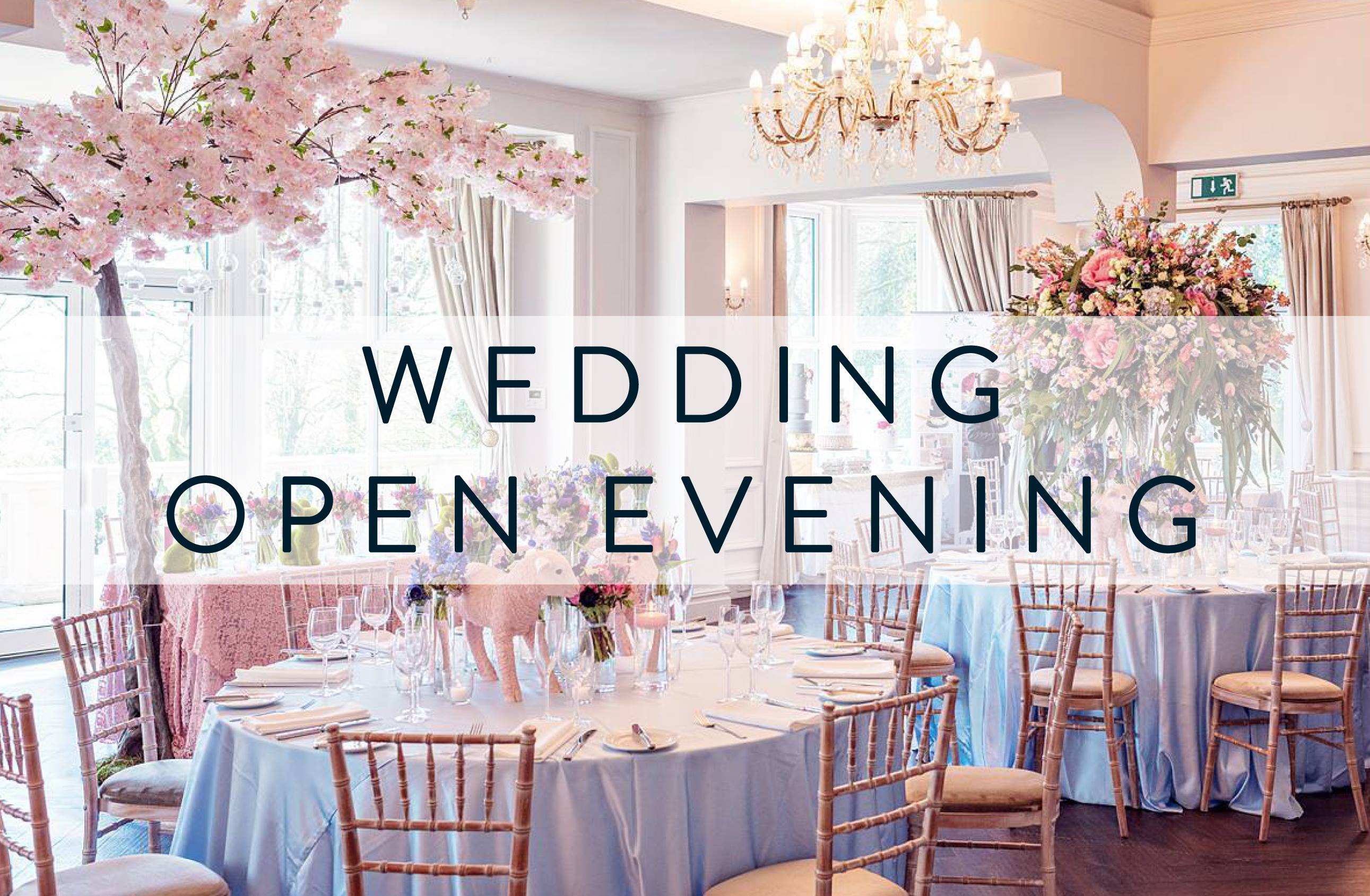 Ashfield House wedding open evening