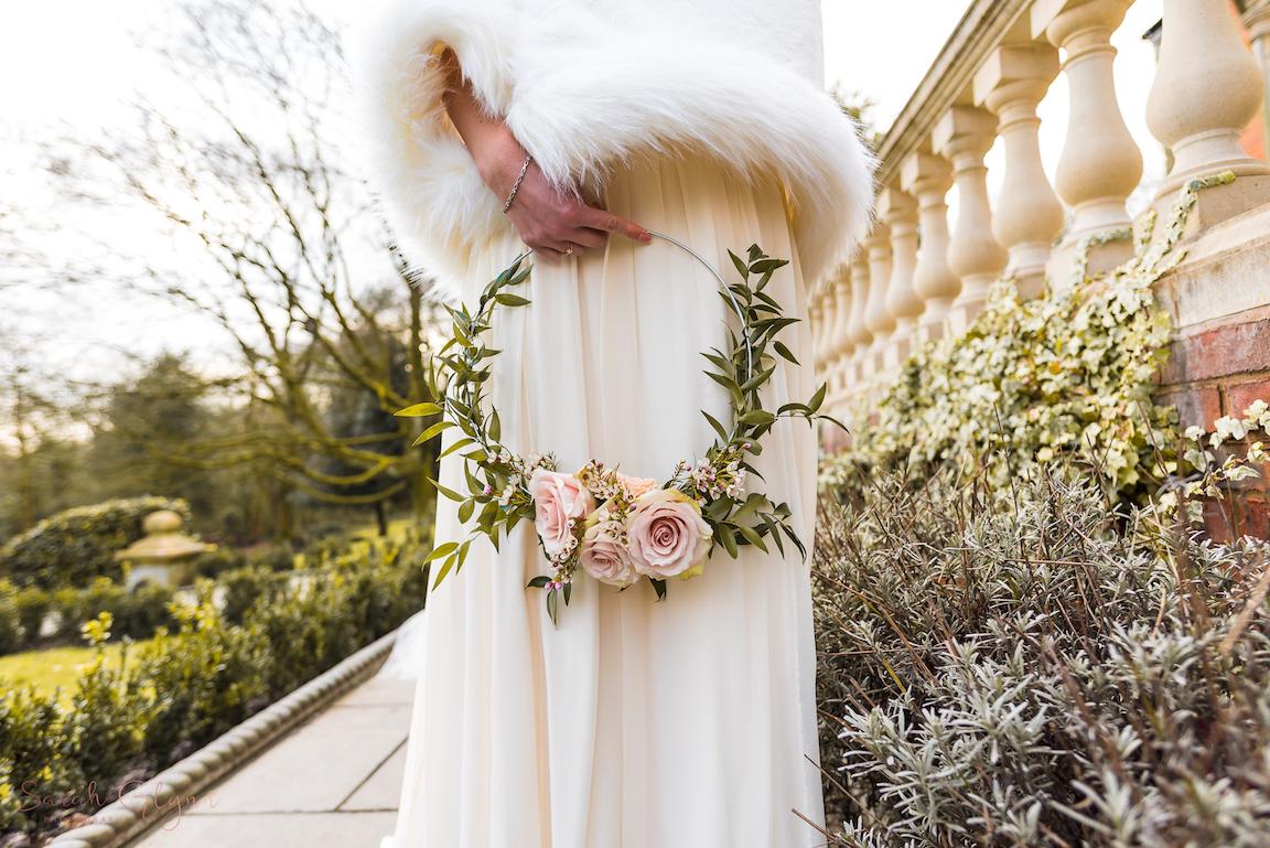 ASHFIELD HOUSE WEDDING VENUE FLORAL HOOPS TREND 2018